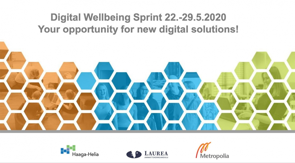 Digital Wellbeing Sprint title slide