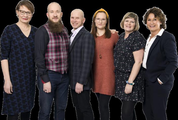 Health Capital Helsinki team photo