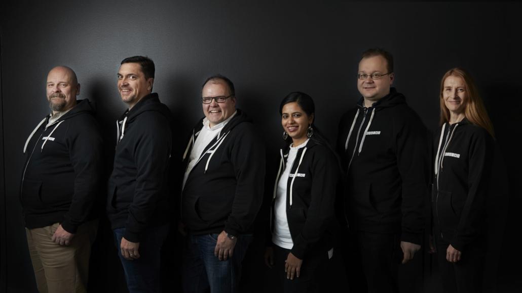 VEIL.AI team photo