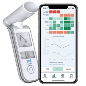 KAMU Spiro and KAMU Asthma app