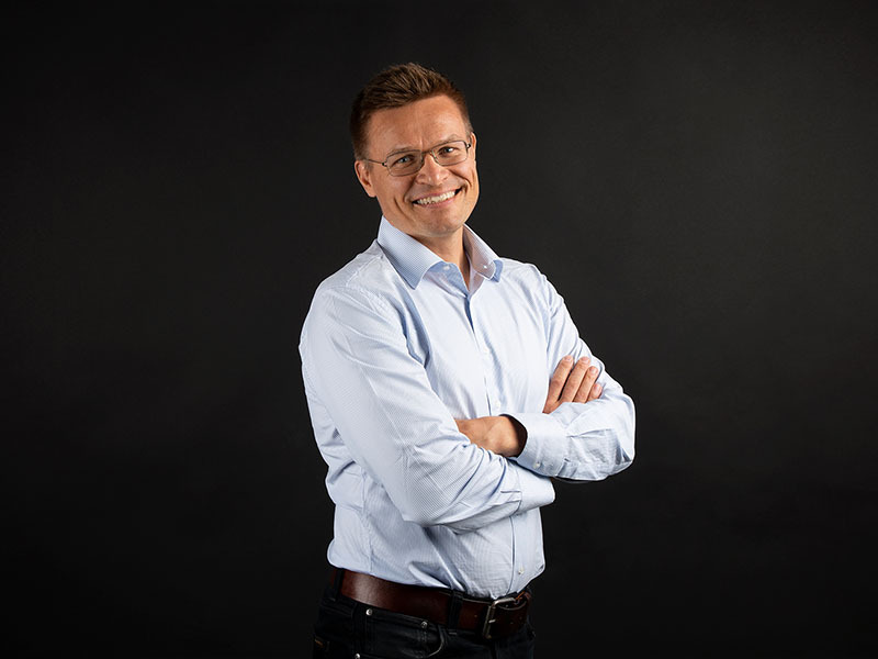 Jokke Mäki, CEO of GlucoModicum