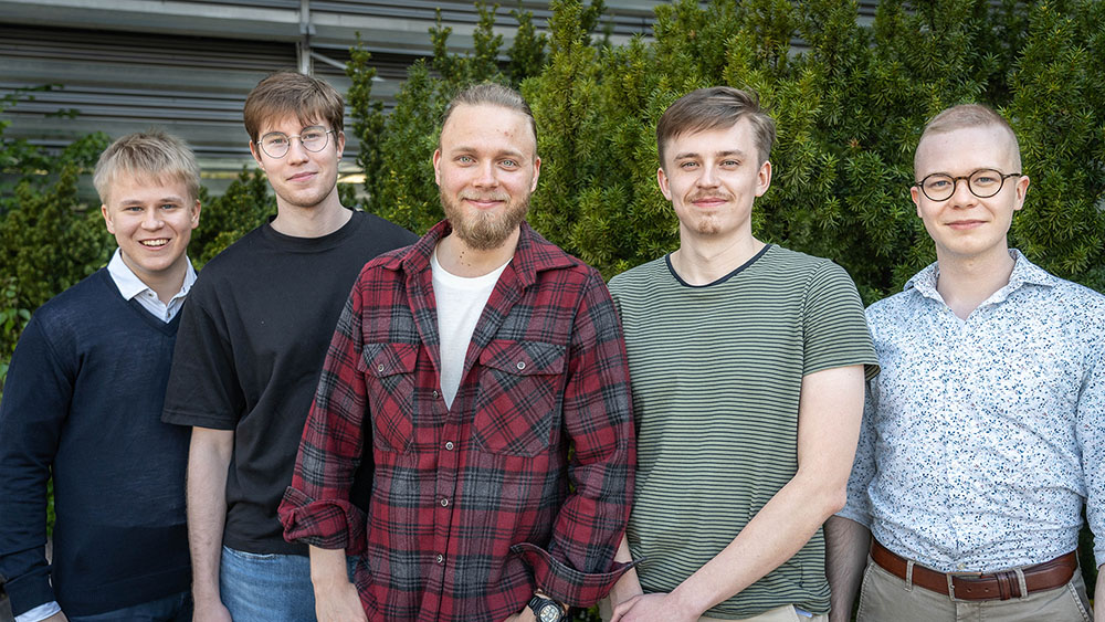 Five Co-founders of Evexia