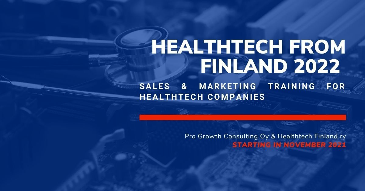 Healthtech from Finland 2022 event banner