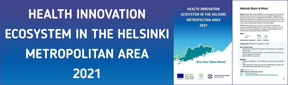 Helsinki health ecosystem guide by Helsinki Brain Mind
