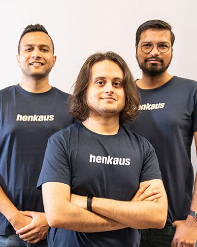 Henkaus Oy: Abhishek Jayaprakash, Soumyajit Chatterjee and Ajesh Kumar