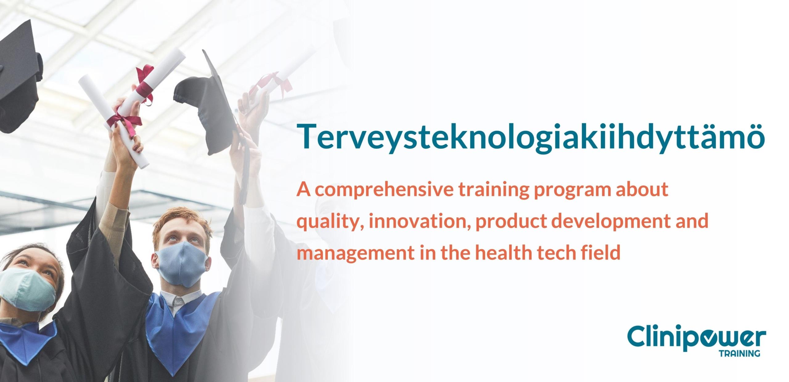The banner of Terveysteknologiakiihdyttämö