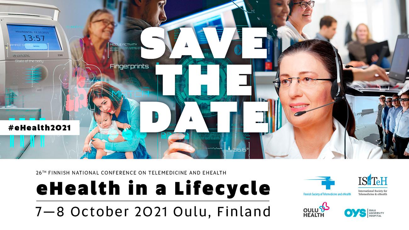 eHealth2021 event banner