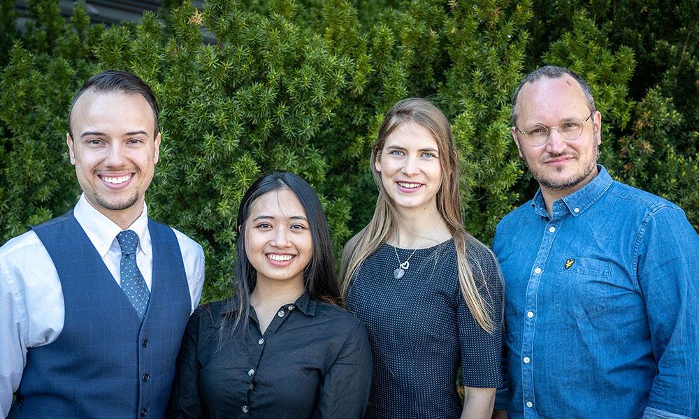 Four of AnalysisMode team members